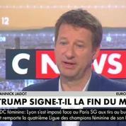 Yannick Jadot : «La décision de Trump est criminelle»
