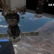 Dernier timelapse de Thomas Pesquet dans l'espace