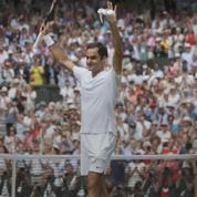 Le mythe Federer s'offre un 8e sacre à Wimbledon