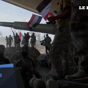 Reprise de Mossoul : les soldats dansent de joie