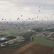 En Lorraine, 456 montgolfières décollent en ligne et battent le record du monde
