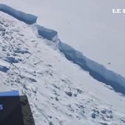 Antarctique: un gigantesque iceberg s'est détaché du continent