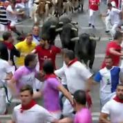 Lâcher de taureaux : deux Français blessés à Pampelune
