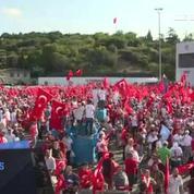 Turquie : commémorations un an après le coup maté par Erdogan