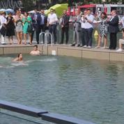 À Paris, le bassin de la Villette ouvre ses portes aux baigneurs