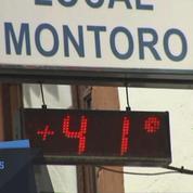 Record de chaleur en Espagne