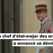 Pierre de Villiers : le chef d'état-major des armées a démissionné