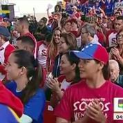 Pour promouvoir des élections contestées, le président vénézuélien s'appuie sur le tube