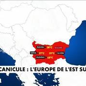 Canicule : l'Europe de l'Est suffoque