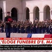 Simone Veil et son époux reposeront au Panthéon, annonce Emmanuel Macron