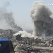 Des images explosives de Mossoul