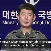 Les États-Unis et la Corée du Sud répondent à Pyongyang par des tirs de missiles