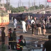 Au moins 25 morts dans une explosion à Lahore au Pakistan