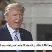 Donald Trump : «Poutine aurait préféré Hillary»