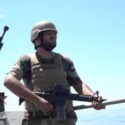 Patrouille en mer avec les les gardes-côtes libyens