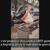Accident de train à Barcelone : 40 blessés dont un grave