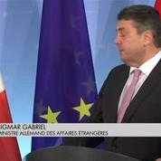 Un ministre allemand au conseil des ministres