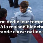 Quelles sont les différences entre les premières dames de France et des États-Unis ?