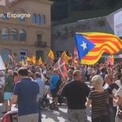 Espagne : marche pour le référendum catalan
