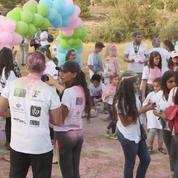 Jordanie : une course colorée pour la bonne cause