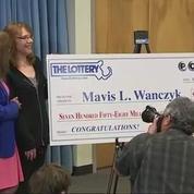 Une Américaine gagne 758 millions de dollars à la loterie et quitte son emploi