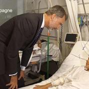 Espagne : le roi et la reine se rendent à l'hôpital del Mar