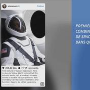 Elon Musk dévoile la combinaison spatiale des astronautes de SpaceX