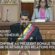 Nicolas Maduro veut avoir une conversation avec Donald Trump