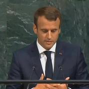 À l'ONU, Emmanuel Macron évoque la crise syrienne et les armes chimiques