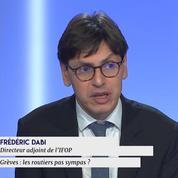 Frédéric Dabi sur la grève des routiers : «Il y a une question de calendrier»