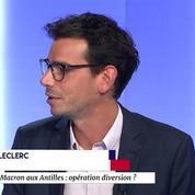Macron a-t-il réussi son pari sur la loi travail ? Fait-il diversion en se rendant aux Antilles ?
