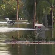 La ville de Bonita Springs, en Floride, est toujours autant inondée