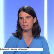 Cécile Crouzel : « Sur cette loi là, l'affaire est un peu pliée »