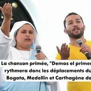 Colombie : Elle rappe pour le Pape