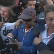 Grève du 12 septembre: Jean-Luc Mélenchon prend un bain de foule à Marseille