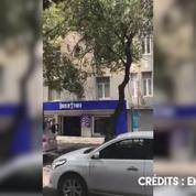 L'évacuation d'un immeuble à Mexico après le séisme