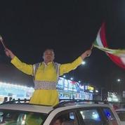 Les Kurdes d'Irak célèbrent le «oui» au référendum