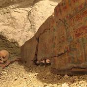 En Égypte, des archéologues découvrent l'impressionnante tombe d'un orfèvre