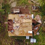 Une semaine après l'ouragan Maria, un drone survole Porto Rico dévastée