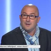 Marc Landré sur la présence d'Emmanuel Macron à Whirpool : «C'est de la récupération»