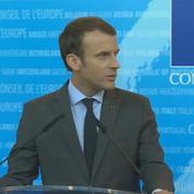 Le discours d'Emmanuel Macron au Conseil de l'Europe