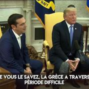 Trump loue le retour de la Grèce en recevant Tsipras