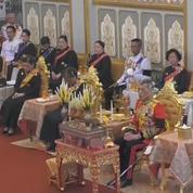 Thaïlande : la cérémonie symbolique de crémation du roi défunt