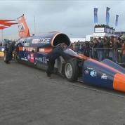 Premiers essais publics pour la voiture supersonique Bloodhound