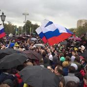 Russie : l'opposition dans la rue pour l'anniversaire de Poutine