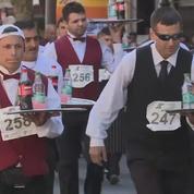 Course de garçons de café en Argentine