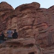 Musique électronique dans le désert jordanien