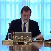 Espagne : réunion du gouvernement pour reprendre le contrôle de la Catalogne