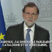 Catalogne indépendante : Rajoy destitue le gouvernement régional