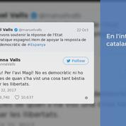 Manuel Valls interpellé sur Twitter par sa soeur au sujet de la Catalogne